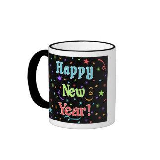 Happy New Year Photo Mug