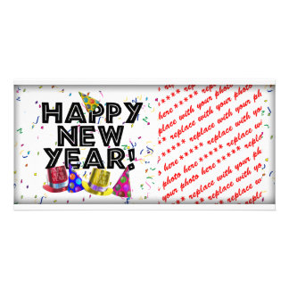 HAPPY NEW YEAR! PICTURE CARD