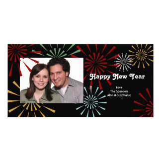 Happy New Year Photocards Card
