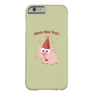 Happy New Year Pig Barely There iPhone 6 Case