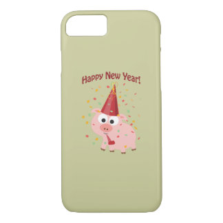 Happy New Year Pig iPhone 7 Case