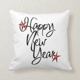 HAPPY NEW YEAR PILLOW - DOUBLE-SIDED!