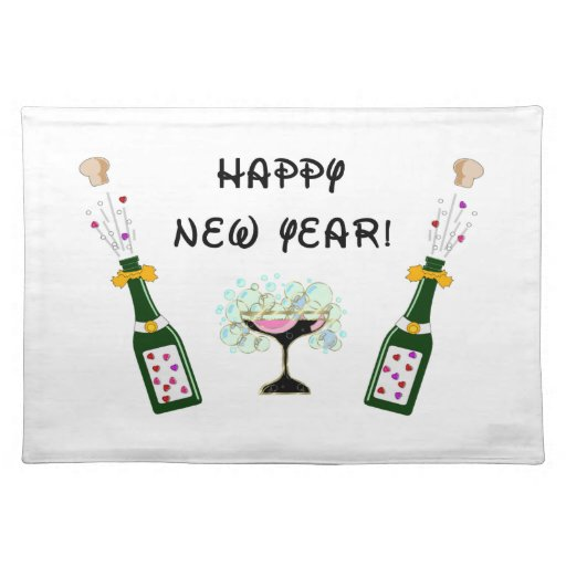 Happy New Year Place Mat