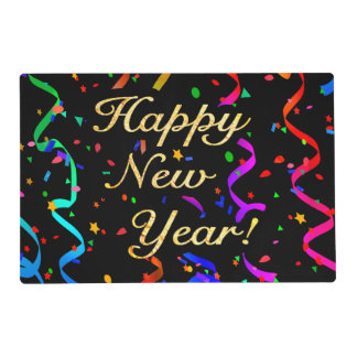 """Happy New Year!"" Placemat"