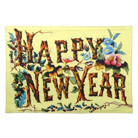 Happy New Year Placemats