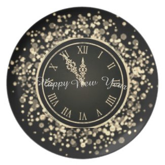 Happy New Year Plate