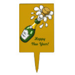 """Happy New Year """"Pop The Cork"""" Cake Topper"""