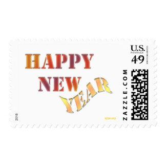 Happy New Year Postage
