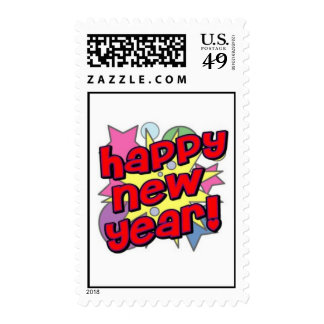 Happy New Year! Postage Stamp