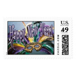 Happy New Year Postage Stamp