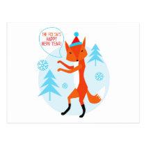 Happy New Year! Postcard