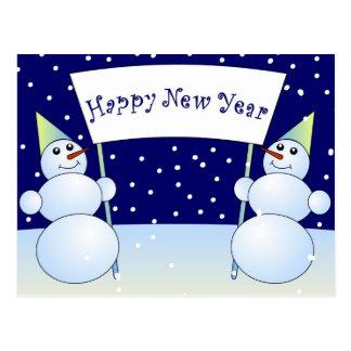Happy New year!!! Postcard
