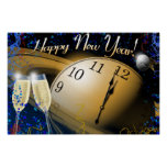 Happy New Year Poster Print