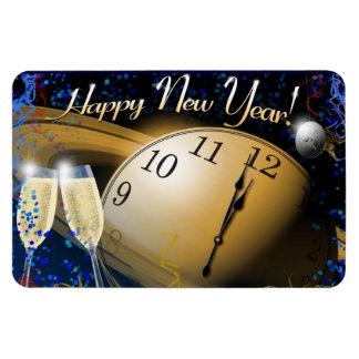 Happy New Year Vinyl Magnet