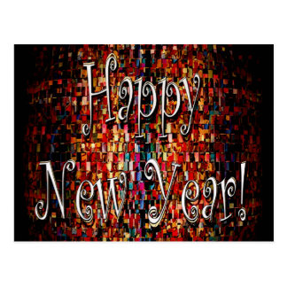 Happy New Year Products Postcard