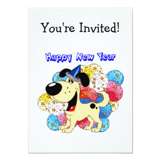Happy New Year Pup! Cards