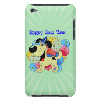 Happy New Year Pup iPod Touch Cover