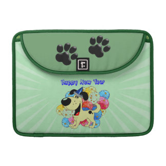 Happy New Year Pup! MacBook Pro Sleeves