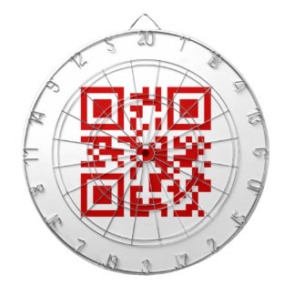 Happy New Year! -- QR Code Dartboard With Darts
