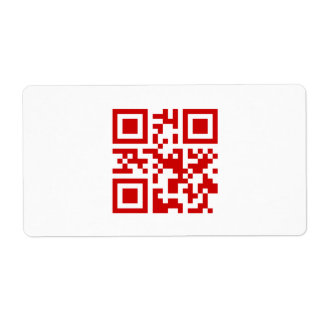 Happy New Year! -- QR Code Label