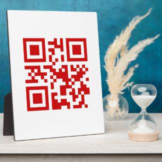 Happy New Year! -- QR Code Plaque