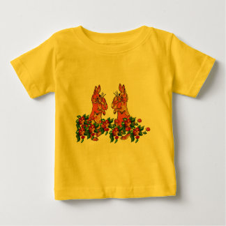 Happy New Year Rabbits Baby T-Shirt