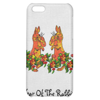 Happy New Year Rabbits Cover For iPhone 5C