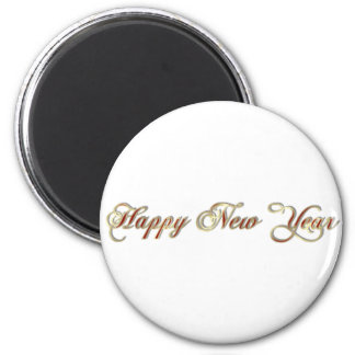 happy new year refrigerator magnets