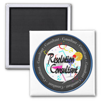 Happy New Year Resolution Consultant Magnet
