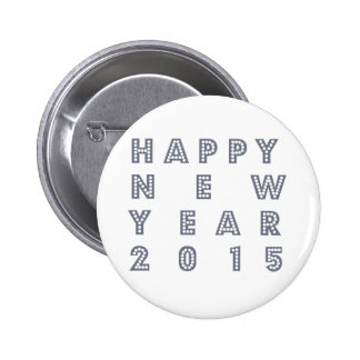 Happy new year´s eve 2015 buttons