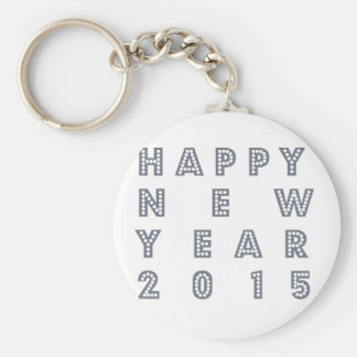Happy new year´s eve 2015 key chains