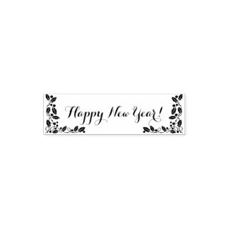 Happy New Year Self-inking Stamp