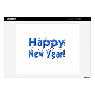 Happy New Year Laptop Decal