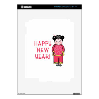 Happy New Year! Decal For iPad 3