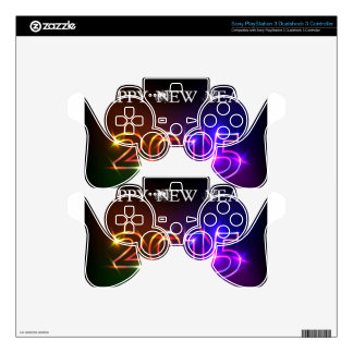 Happy New Year PS3 Controller Skin