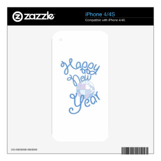 Happy New Year Skin For iPhone 4S