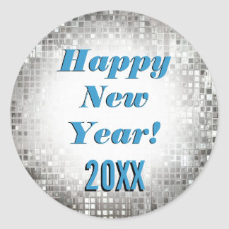 Happy New Year! Sparkling Cool Stickers