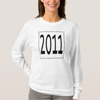Happy New Year square T-Shirt