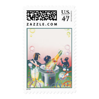 Happy New Year © Stamp