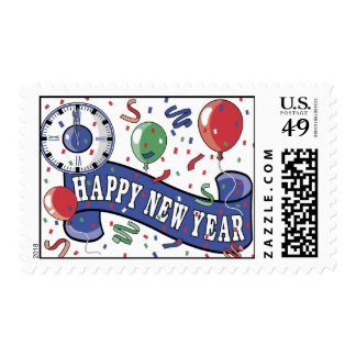 Happy New Year Stamp
