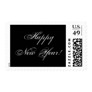 Happy New Year! stamp