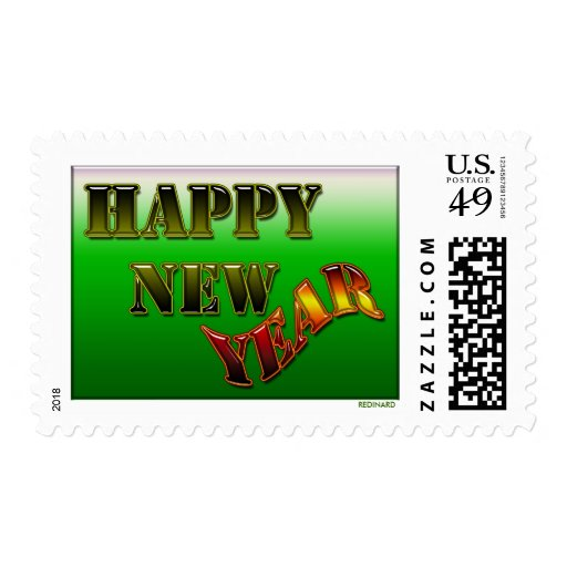 Happy New Year Stamps