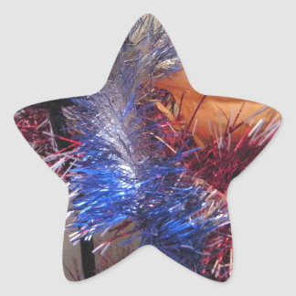 Happy New Year Star Sticker