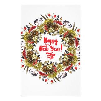 Happy New Year Stationery