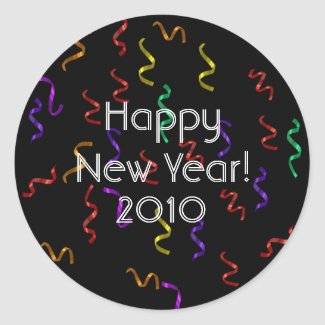 Happy New Year Stickers sticker