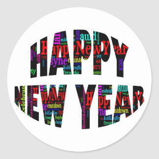 Happy New Year! Stickers