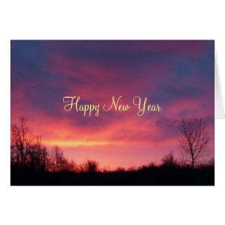Happy New Year -Sunrise Card