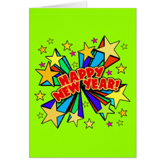 Happy New Year T-shirts, Beer Steins, Party Favors Card
