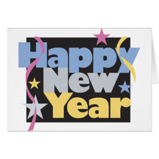 Happy New Year T-Shirts New Year's Card