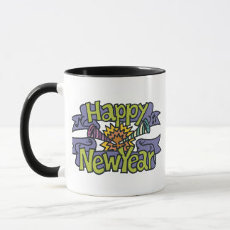 Happy New Year T-Shirts New Year's Mug